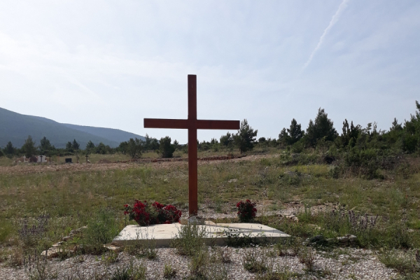 Izgradnja groblja u Gornjem Karinu