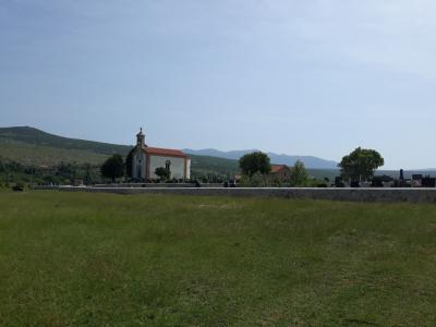 Izgradnja groblja u Žegaru