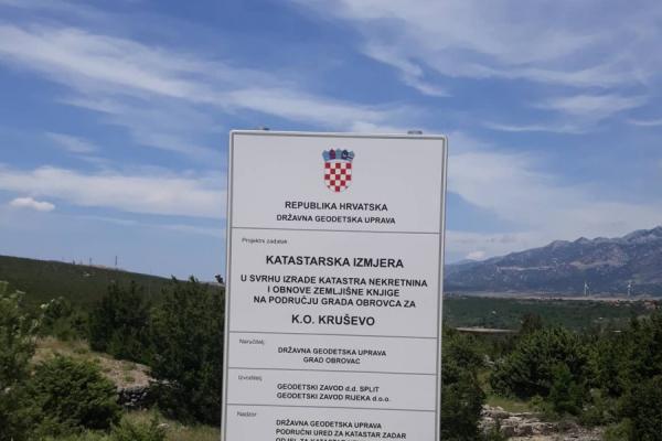 Izrada katastra nekretnina na području grada Obrovca