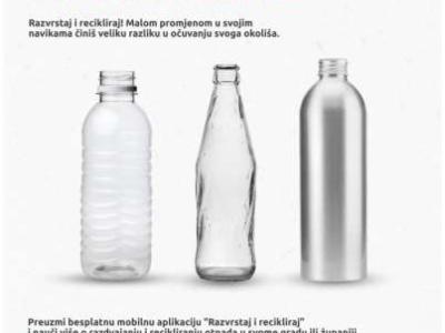 Provedba obrazovno-informativnih aktivnosti u sklopu projekta Razvrstaj i recikliraj