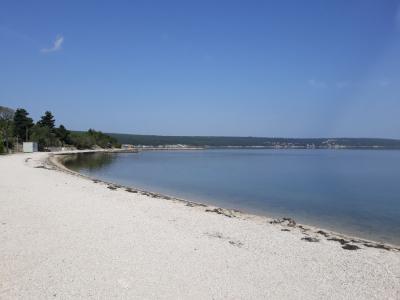 Uređenje plaže u Gornjem Karinu
